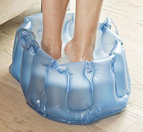 Fußbad Fussbad Fußbadewanne aufblasbar Fußmassage Wellness mobile Fusswanne