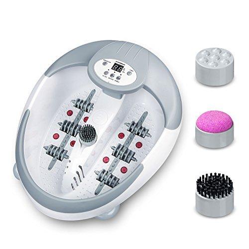 Hangsun LED Fußbad Massage Fußbadewanne Mit Heizung FM600 Fußmassagegerät Mit Infrarot-Wärme Und Magnetfeldtherapie Für Die Fußpflege